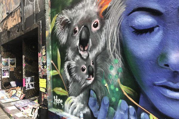 Melbourne City street art tours